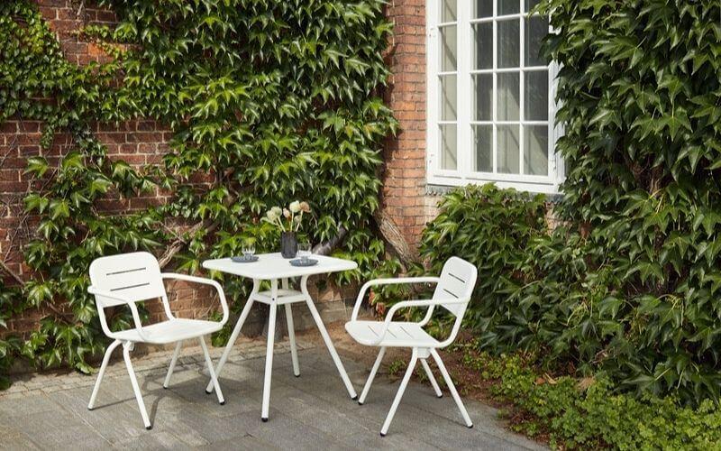 Flot cafebordsæt i hvid