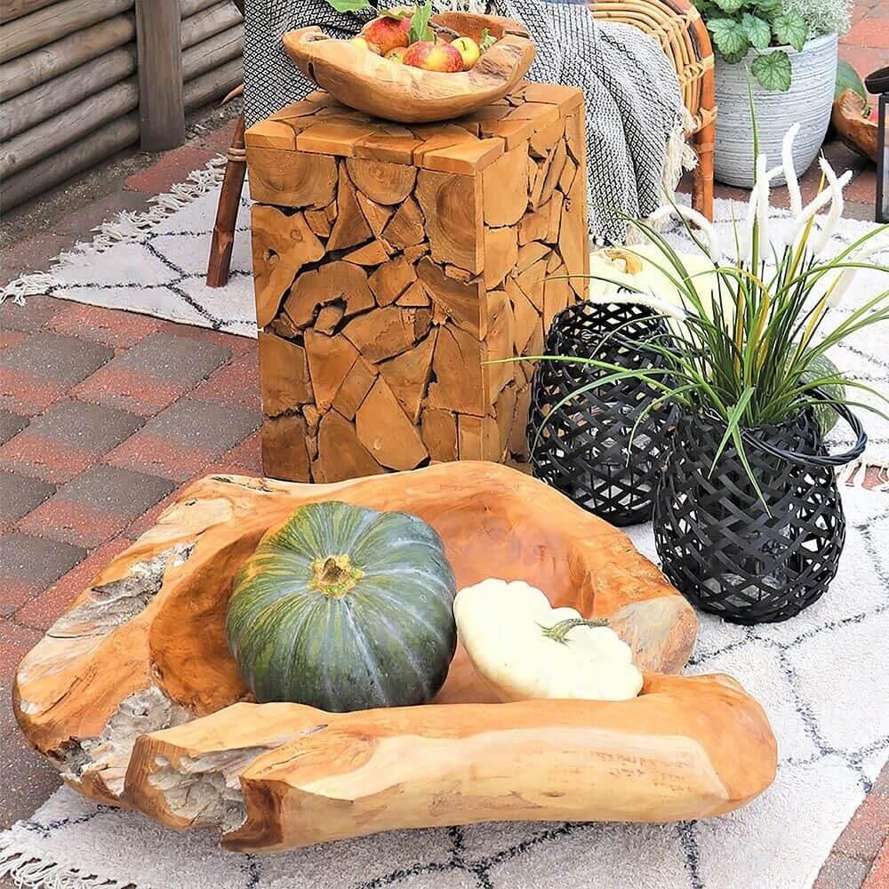 Havemøbler i teaktræ
